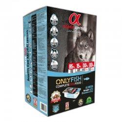 אלפא ספיריט - מזון לכלבים בטעם דגים