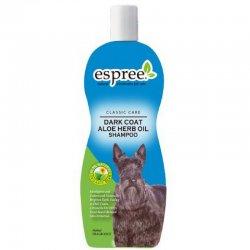 שמפו לכלבים שמן אלוורה לפרווה כהה espree
