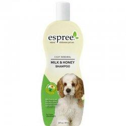 שמפו לכלבים חלב ודבש espree