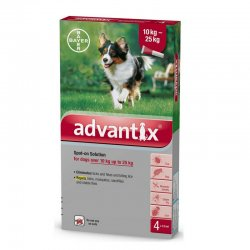 אדוונטיקס טיפות למניעת פרעושים וקרציות לכלבים 10-25 קג