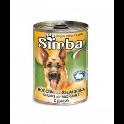 סימבה שימורי בשר ציד לכלב 415 גרם
