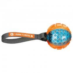 טריקסי-TRIXIE כדור גומי עמיד במיוחד עם ידית משיכה