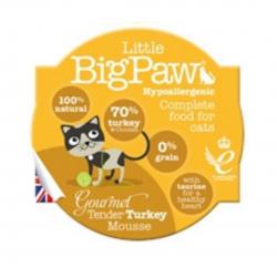 מזון לחתולים Big Paw מוס הודו