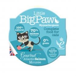 מזון לחתולים Big Paw מוס סלמון
