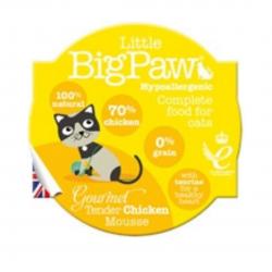 מזון לחתולים Big Paw מוס עוף