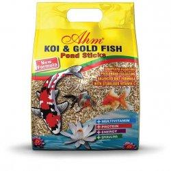 מזון לדגי נוי - במבה צבעוני