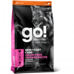 אוכל לכלבים go עוף ללא דגן