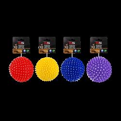 משחק מצפצף לכלב של חברת פטקס בעיצוב של קיפוד קוצני