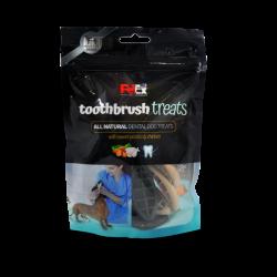 מברשת שיניים - חטיף יבש מלא לכלבים - המיועד לניקוי השיניים 100 גרם