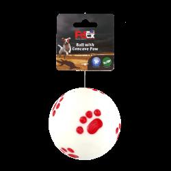 כדור משחק לכלב של חברת פטקס עם צפצפה מובנית לגירוי ייצר המשחק