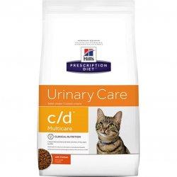 מזון רפואי לחתולים הילס C/D יורינרי