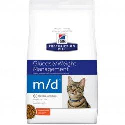 מזון רפואי לחתולים הילס M/D
