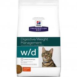 מזון רפואי לחתולים הילס W/D