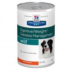 מזון רפואי לכלב הילס w\d