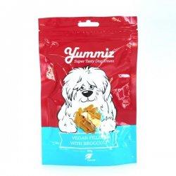 יאמיז חטיף טבעוני בטעם ברוקולי - Yummiz