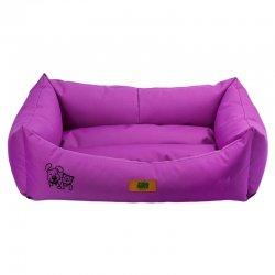 מיטה לכלב נגד מים סגול