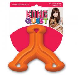 קונג kong  קווסט - צעצוע האכלה לכלבים בצורת פרח
